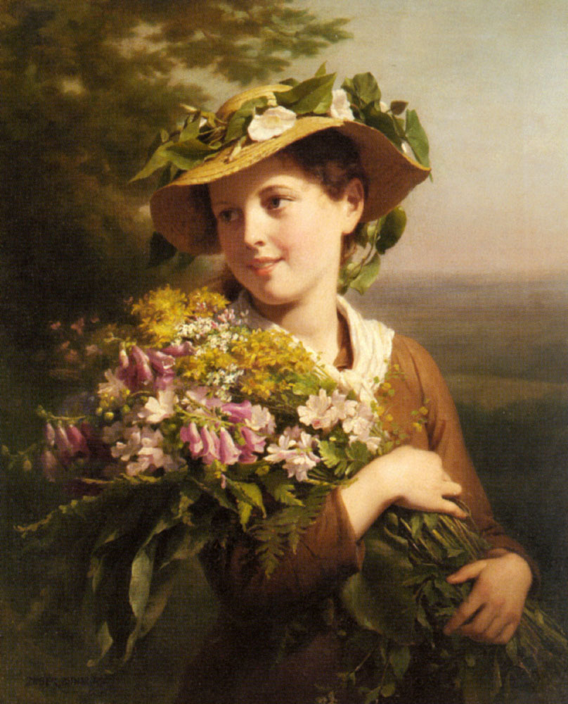 Zuber_Buhler_Fritz_A_Young_Beauty_H