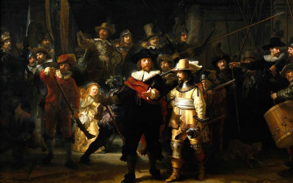 RembrandtTheNightWatch164142AmsterdamRijksmuseum