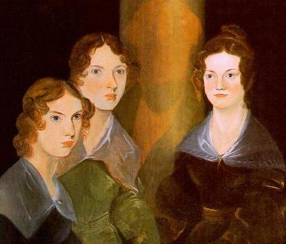 Совместный портрет сестёр Бронте, написанный их братом Бренуэллом, приблизительно 1835 год