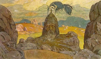 Иллюстрация Ивана Билибина, 1900 г.