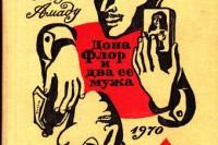 Жоржи Амаду «Дона Флор и два её мужа»